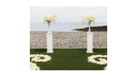 Image of a White Pedestals