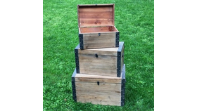 Image of a Vintage Wooden Chests