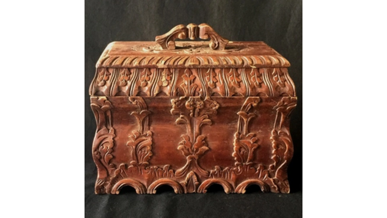 Picture of a Antique Card Box