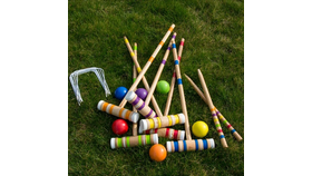 Image of a 6 player Croquet Set