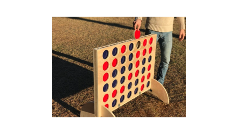 Picture of a Giant Connect Four