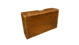 Image of a Large Brown Suitcase