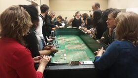 Image of a 12' Craps Table