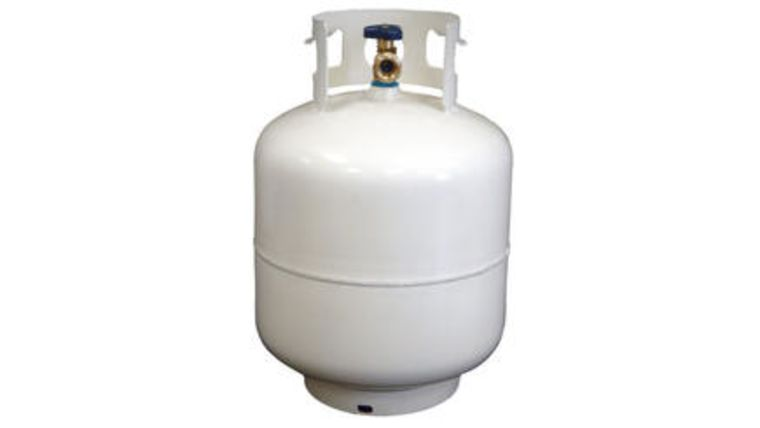 Picture of a 20 LB PROPANE TANK