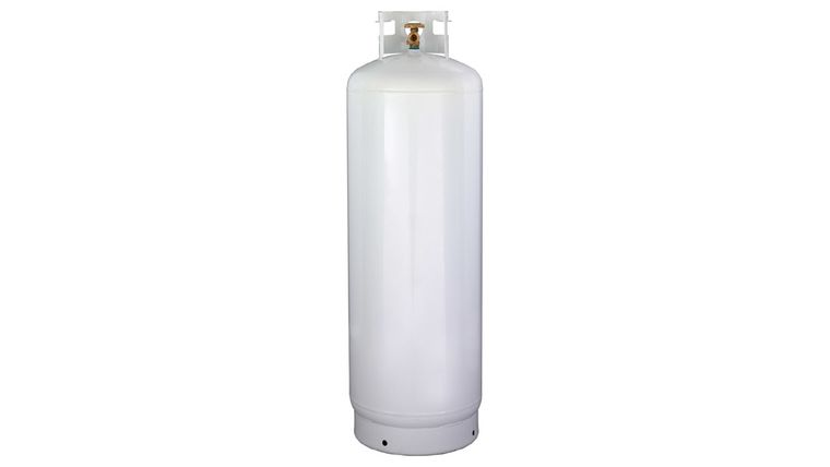 Picture of a 100 LB PROPANE TANK