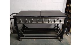 Image of a LARGE PROPANE GRILL