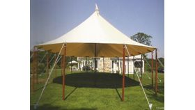 Image of a 56X57 FT TIDEWATER SAILCLOTH TENT