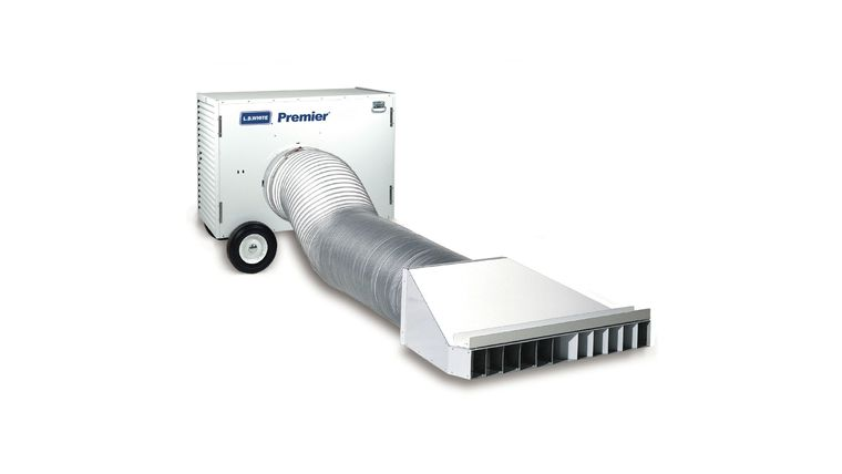 Picture of a 80,000 BTU PREMIER TENT HEATER