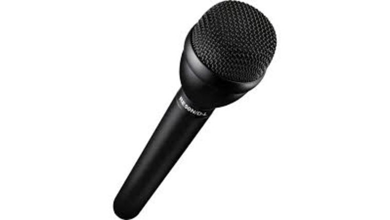 Picture of a Electro-Voice RE50N/D-B - Omnidirectional Dynamic Shockmounted ENG Microphone