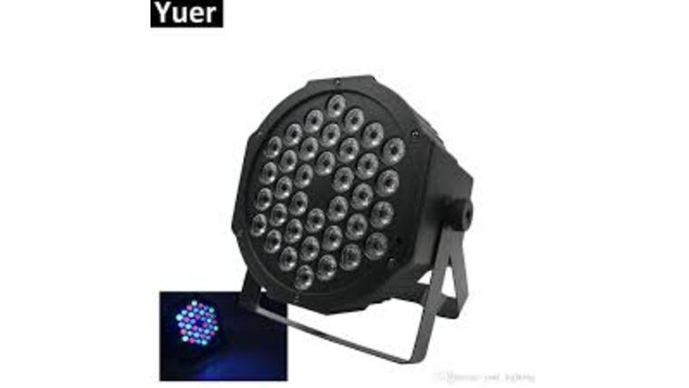 """Picture of a 7"""" LED Light"""