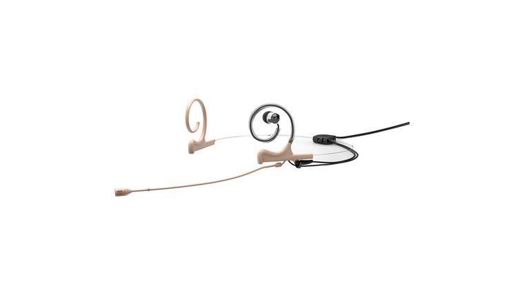 Picture of a DPA Microphone In-Ear Broadcast Headset