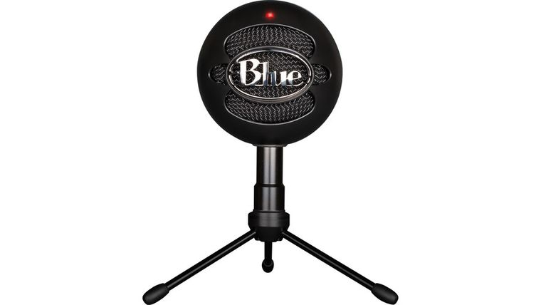 Picture of a Blue Snowball iCE USB Condenser Microphone