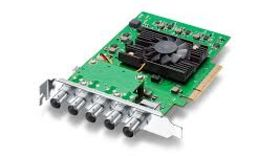 Image of a BlackMagic Decklink 8K SDI Capture Card