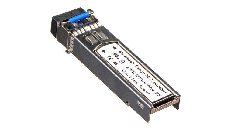 Picture of a BlackMagic 3G SFP Optical Fiber Module V16