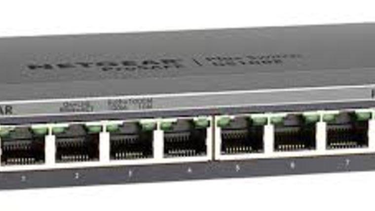 Picture of a Netgear Switch GS108E