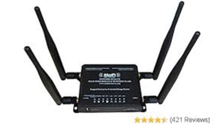 Picture of a Mofi 4500 Sim V2 Rugged Router