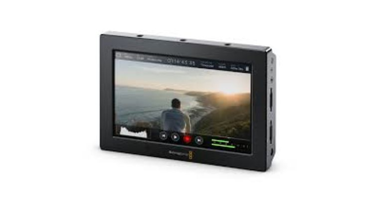 Picture of a BlackMagic Video Assist 4K Recording Monitor