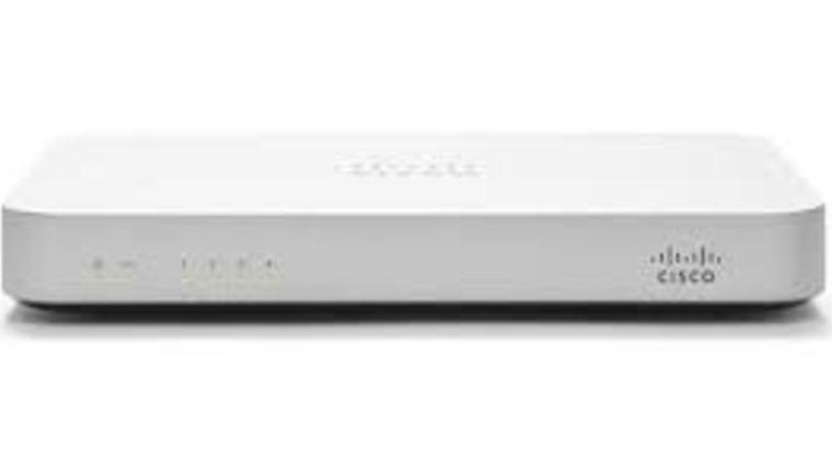 Picture of a Cisco Meraki MX60 Firewall