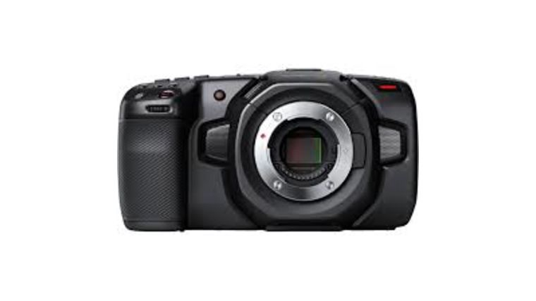 Picture of a BlackMagic Pocket Cinema Camera 4K