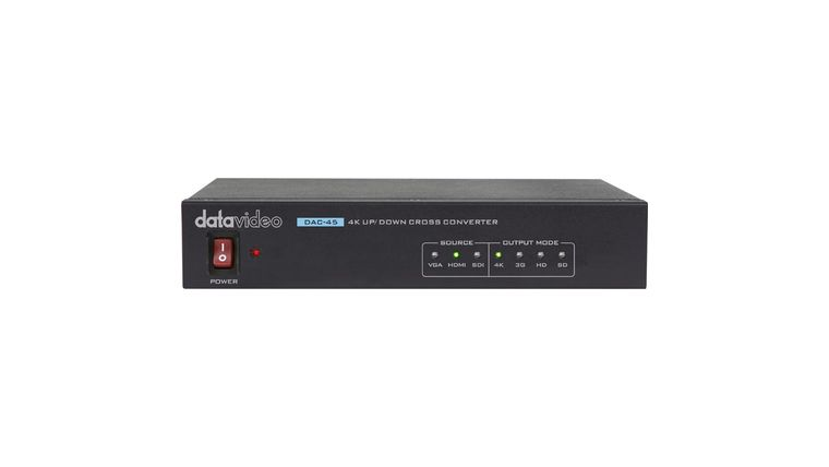 Picture of a DataVideo DAC-45 Up/Down Cross Converter