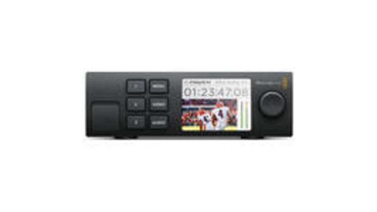 Picture of a BlackMagic Teranex Mini Smart Panel
