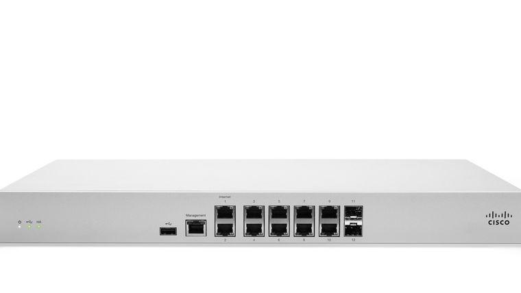 Picture of a Meraki MX84 Firewall