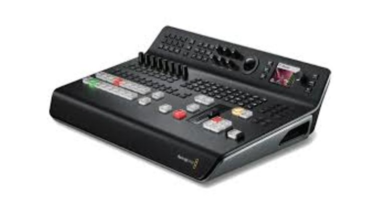 Picture of a BlackMagic ATEM TV Studio Pro 4K (console)