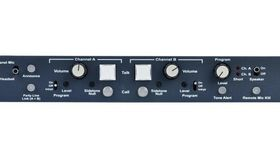 Image of a Clear-Com MS-702 2-Channel Intercom Base Station
