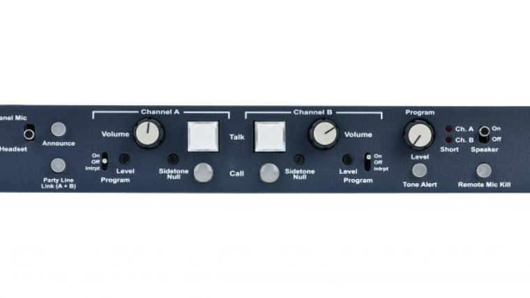 Picture of a Clear-Com MS-702 2-Channel Intercom Base Station