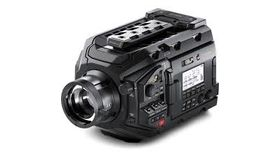 Image of a BlackMagic URSA Broadcast Camera