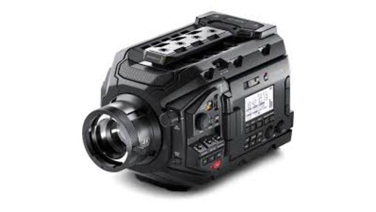 Picture of a BlackMagic URSA Broadcast Camera