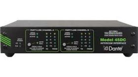 Image of a Dante 45DC Dual Party-Line Intercom Interface