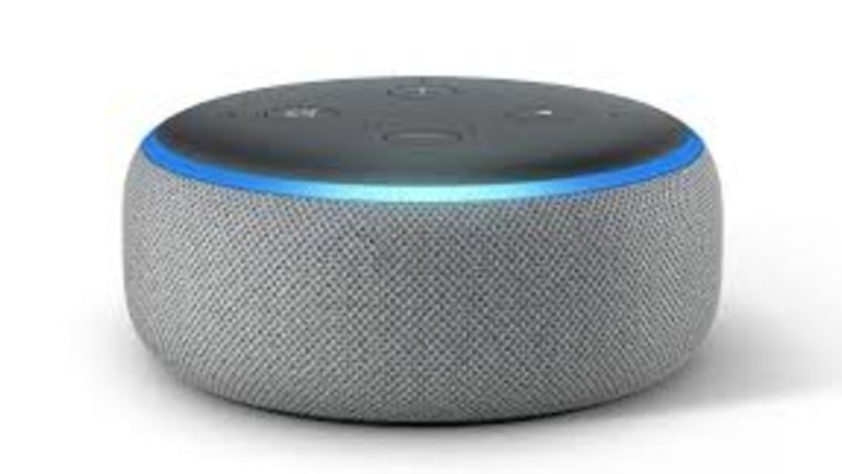 Picture of a Amazon Echo Dot