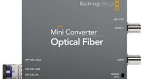 Image of a BlackMagic Mini Converter Optical Fiber 3G-SDI