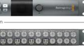 Image of a BlackMagic ATEM Talkback Converter 4K Fiber Converter (8 I/O)
