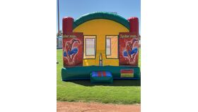 Image of a Bounce House (Spiderman)