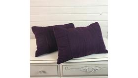 Image of a Deep Purple Cushions