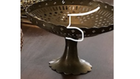 Image of a Bronze Bowl Stand