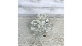 Image of a Crystal Cube Tea Light Holders