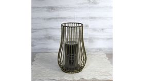 Image of a Bronze Wire Candle Holder