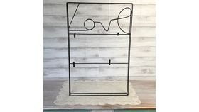 Image of a Black Wire 'Love' Photo Display