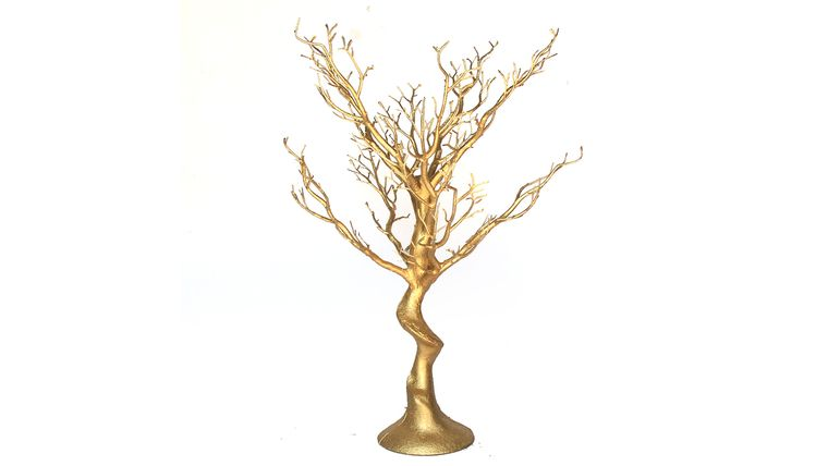 Picture of a Gold Tree