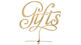 Image of a GIFTS - Gold Stand