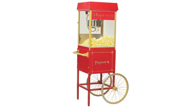 Picture of a 8oz Popcorn Machine w/ Cart