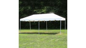 Image of a 10'x20' White Frame Tent