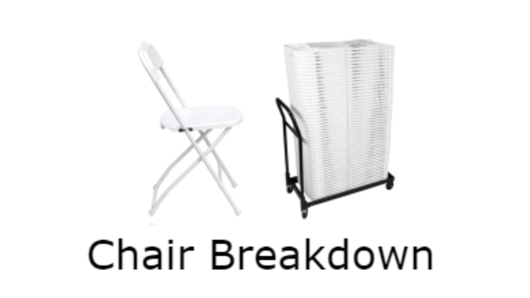 Picture of a Chair Breakdown