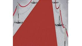Image of a 3'x30' Red Carpet