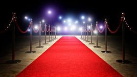 Image of a 3' x 10' Red Carpet