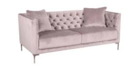 Image of a Lisa Lavender Sofa