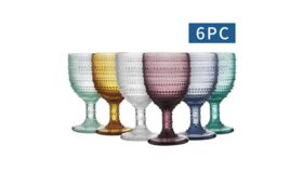 Image of a Beaded Goblet Set of 6